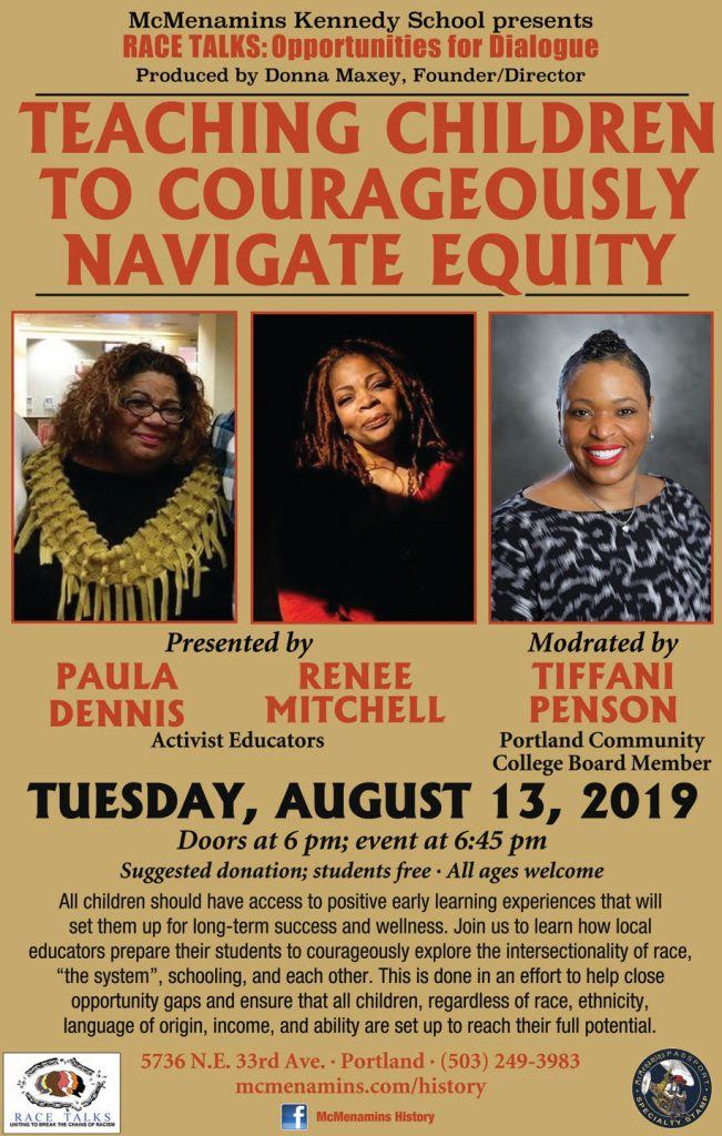 poster for equity event